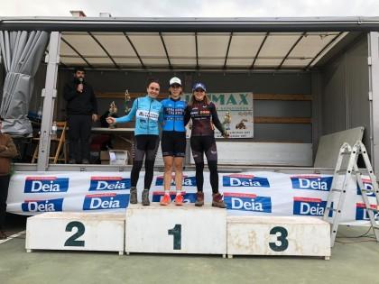Aitor Hernández y Zaloa Trevilla ganan en Berriz y dos podios para el Bikezona Team