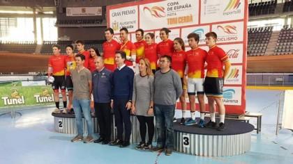 Albert Torres y Eukene Larrarte, campeones de España de ómnium