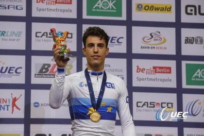 Albert Torres gana a lo grande el Campeonato de Europa de omnium