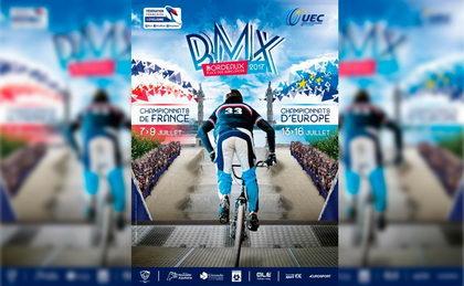 Alejandro Alcojor y Verónica García al europeo de BMX en Burdeos