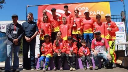 Alejandro Kim, primer líder de la Copa de España de BMX 2019