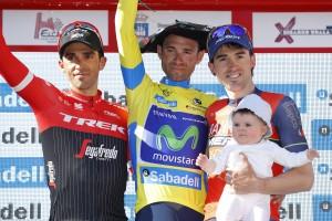 Alejandro Valverde conquista su primera Vuelta al País Vasco