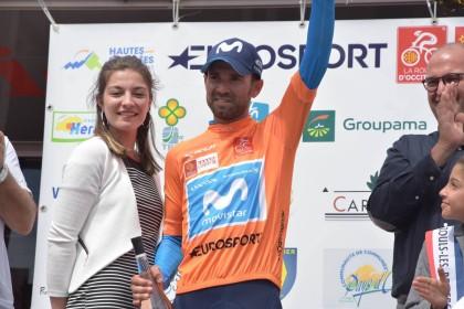 Alejandro Valverde, espectáculo y triunfo final en Occitanie