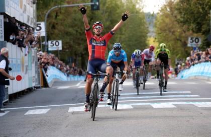 Alejandro Valverde sube al podio en el GP Beghelli