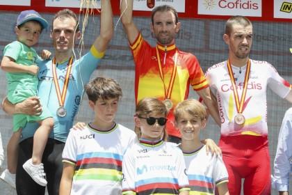 Alejandro Valverde también campeón de España