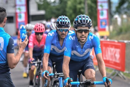 Alejandro Valverde vuelve a competir como mejor sabe, ganando ..