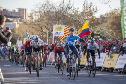 Alejandro Valverde ya lidera la Volta 2018