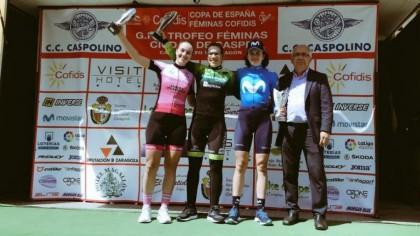 Ana Usabiaga vence al sprint en Caspe y es la nueva líder