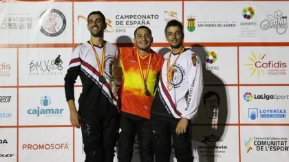Ángel Daniel Sánchez, nuevo campeón de España de BMX Racing