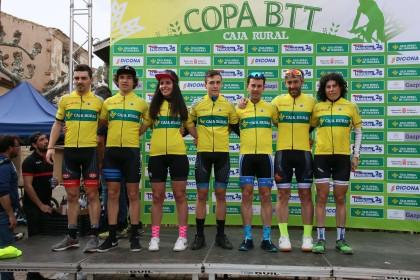 Arrancó en Fitero la XI edición de la Copa Caja Rural BTT
