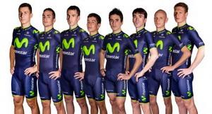 Así es el Movistar Team 2014
