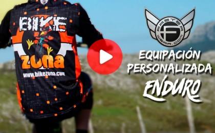 Así es la equipación Faster Wear que lucirá el BZ Team en su temporada de Enduro