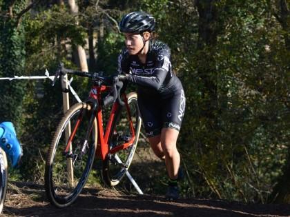 Así vivió Lucía González su subcampeonato de España de ciclocross