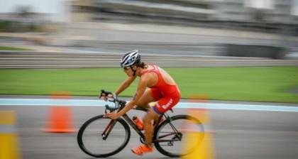 Atropellada mientras entrenaba la triatleta Carolina Routier