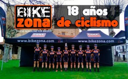 Bikezona se hace mayor de edad y ya son 18 años de ciclismo