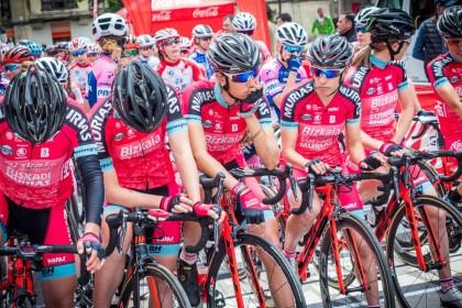 Bizkaia Durango-Euskadi Murias, a pelear con las mejores en el Giro