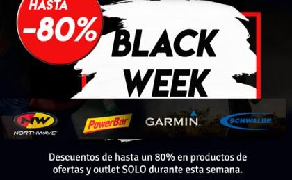 Black Week de Vicsports con descuentos de hasta el 80% en Northwave, Powerbar, Garmin, Schwalbe ...