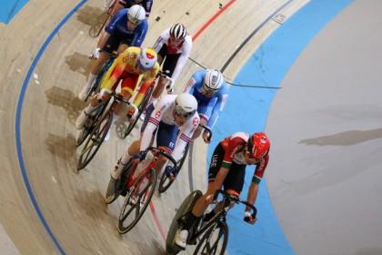 Buen estreno de la selección en el europeo de pista de Apeldoorn