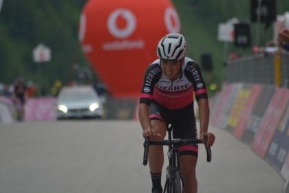 Buen sabor de boca para el Lizarte tres el Giro de Italia U23