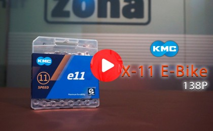Cadena KMC X-11 para e-bikes, reforzada y optimizada