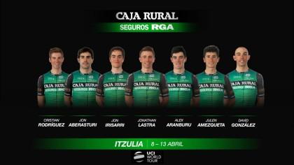 Caja Rural-Seguros RGA un año más en la Vuelta al Páis Vasco