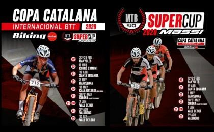 Calendario Copa Catalana Internacional Biking Point y SuperCup Massi 2020