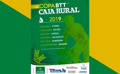 Calendario decidido para la décima edición de la Copa Caja rural BTT