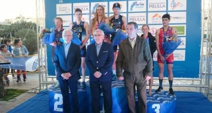 Camila Alonso gana la Copa de Europa de Triatlón Melilla 2018