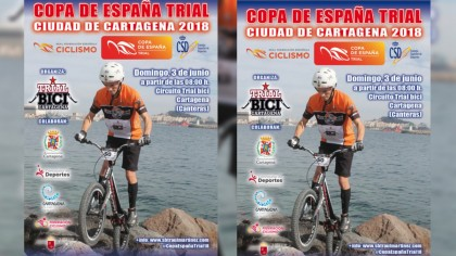 Cartagena acoge la penúltima prueba de la Copa de España de Trial
