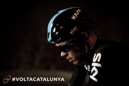 Chris Froome confirma su presencia en la Volta Ciclista a Catalunya