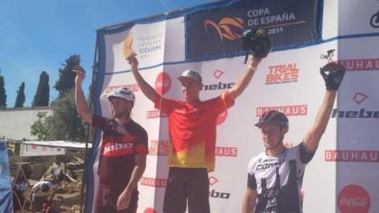 Circuito nacional de trial: Alejandro Montalvo y Vera Barón ganan en Torredembarra