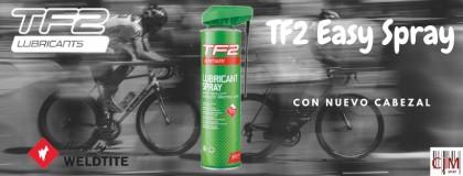 CJM presenta el nuevo spray lubricante TF2 de Weldlite con Teflón