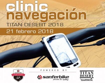 Clinic gratuito de navegación GPS para la Titan Desert 2018 con Sanferbike