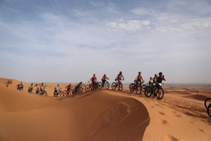 Comenzó una Garmin Titan Desert de récord