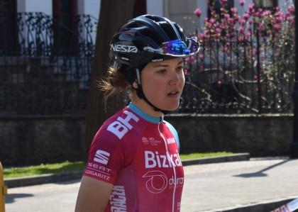 Cristina Martínez, un top-10 de 10 en la Emakumeen Bira 2019