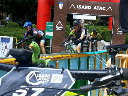 Cronica de la Isard Atac Bike, MTB de alta montaña