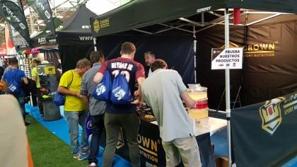 Crown Sport Nutrition sorprendió en Monegros con la calidad de sus productos