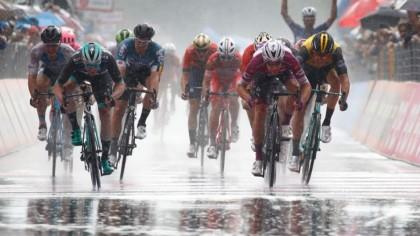 Cuarta victoria de Viviani en el Giro antes de llegar a los Alpes