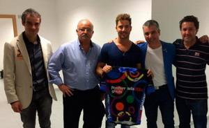 David Bisbal ya tiene su maillot de Ponferrada 2014