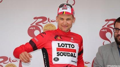 De la Cruz gana la crono final de la Vuelta a Andalucía y Wellens la general