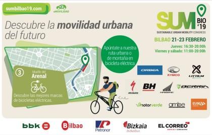 DEMO Days de eléctricas en el Muelle del Arenal de Bilbao los días 21 a 23 de febrero