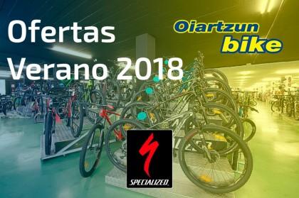 Descuentos brutales gama Specialized en Oiartzun Bike
