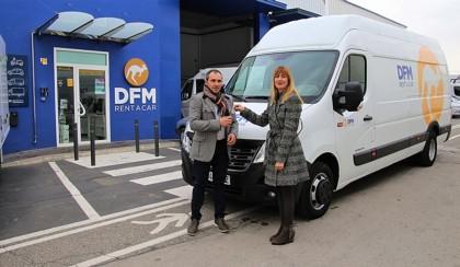 DFM Rent a Car con el ciclismo femenino y la educación vial