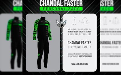 Diseña tu chandal a juego de la equipación ciclista con Faster Wear