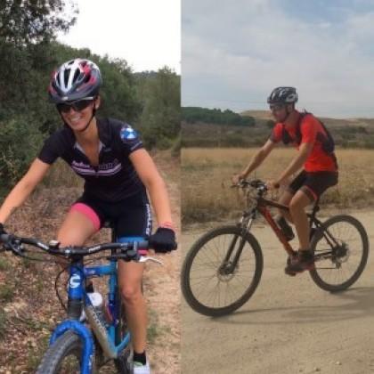 Dos afectados de Esclerosis Múltiple correrán la Orbea Monegros