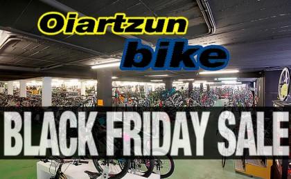 El Black Friday de Oiartzun Bike se supera con ofertas irrepetibles