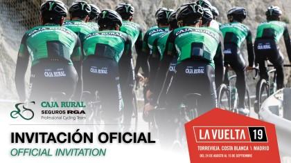 El Caja Rural-Seguros RGA participará la Vuelta a España 2019