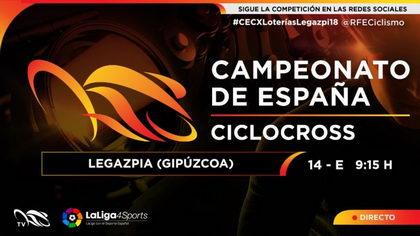El campeonato de España de ciclocross en directo