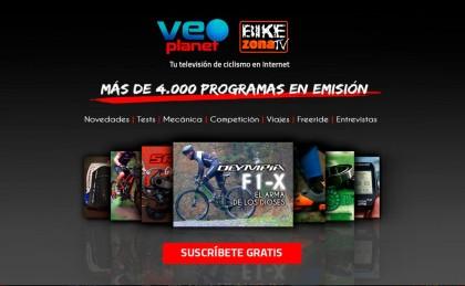 El Canal ciclista de TV Online, Veoplanet se renueve completamente