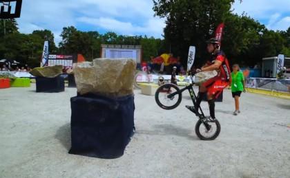 El Comas Trial en el campeonato de Europa 208